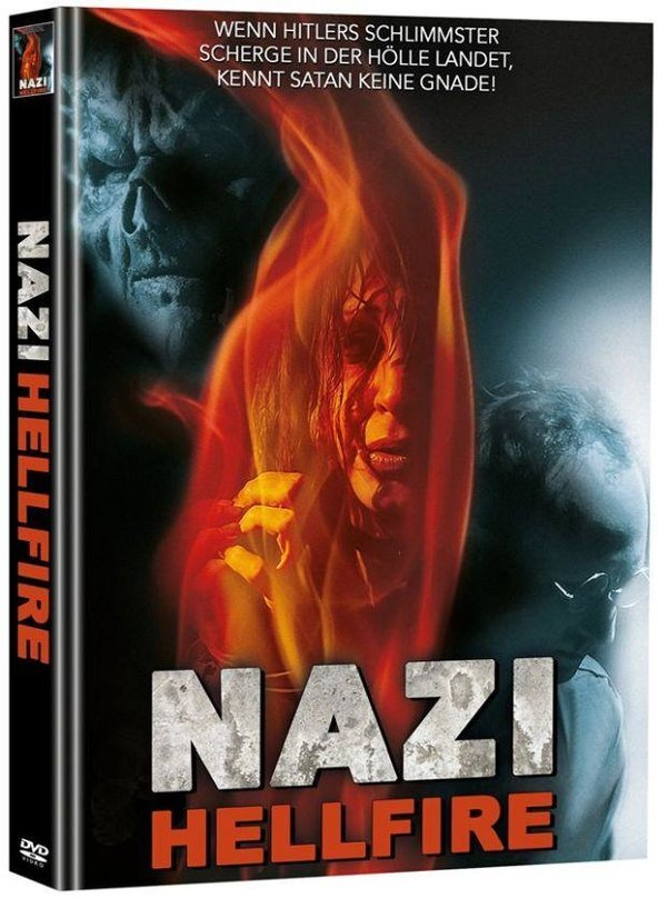 Nazi Hellfire (2015) (Cover B, Super Spooky Stories, Director's Cut, Limited Edition, Mediabook, Unrated, 2 DVDs)
