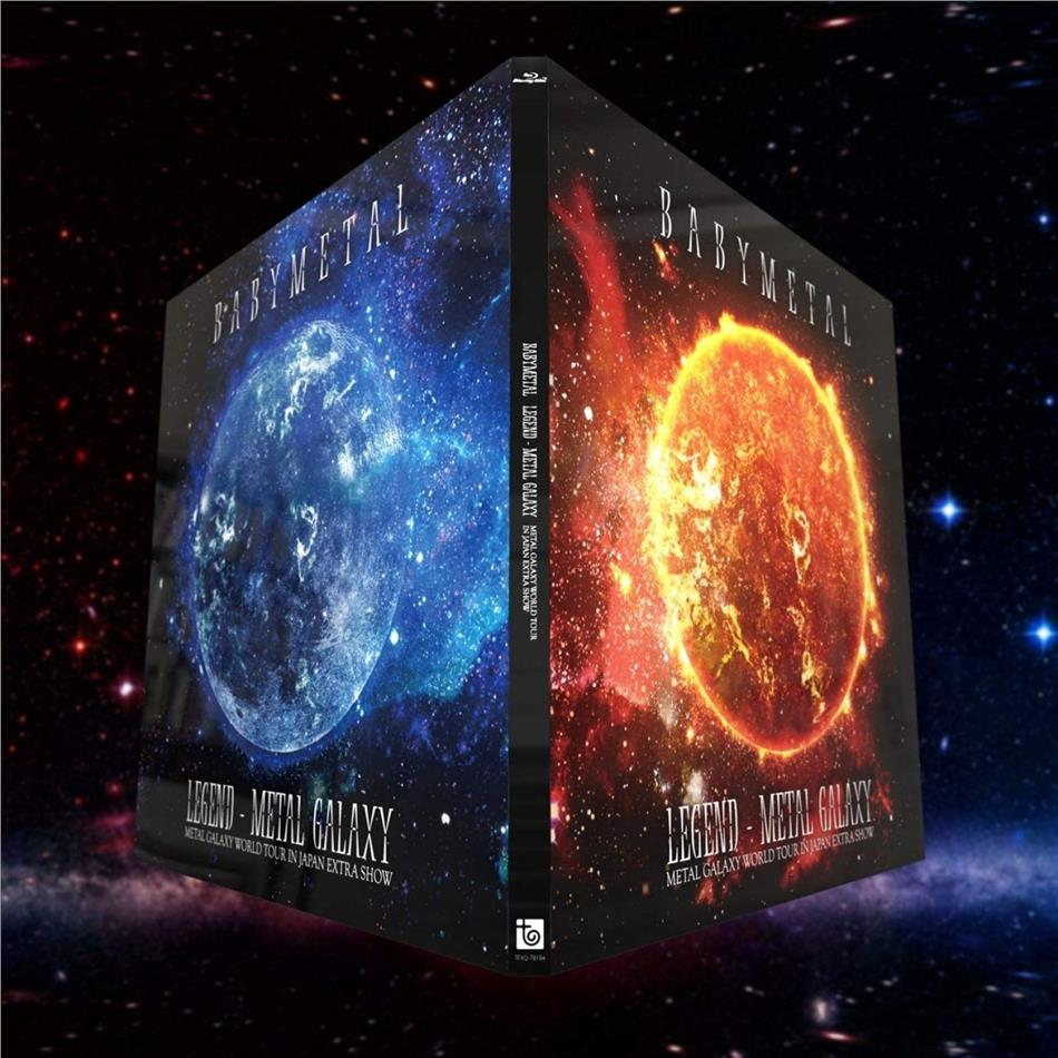 Babymetal - Legend - Metal Galaxy: Metal Galaxy World Tour In Japan Extra Show (Limited Edition, 2 Blu-rays)