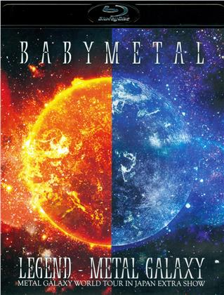 Babymetal - Legend - Metal Galaxy: Metal Galaxy World Tour In Japan Extra Show (Standard Edition, 2 Blu-rays)