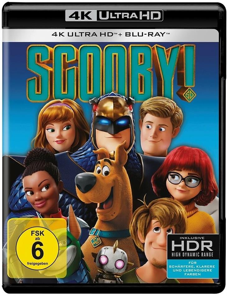 Scooby! - Voll verwedelt (2020) (4K Ultra HD + Blu-ray)