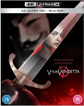 V For Vendetta (2005) (4K Ultra HD + Blu-ray)