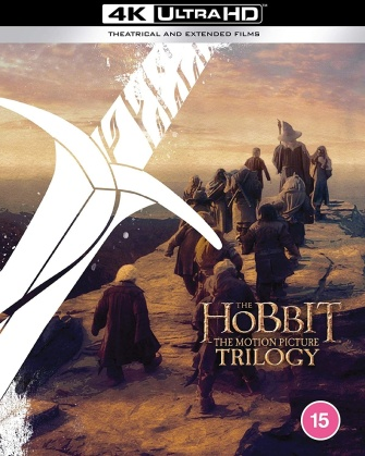 The Hobbit Trilogy (Extended Edition, Kinoversion, 6 Blu-rays)