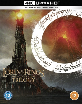 The Lord Of The Rings Trilogy (Extended Edition, Versione Cinema, 9 4K Ultra HDs)