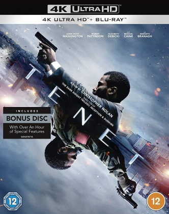 Tenet (2020) (4K Ultra HD + Blu-ray)