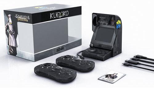 Neo Geo mini Samurai Showdown S.E. black Retro Console