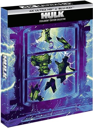 Hulk (2003) (Limited Collector's Edition, Steelbook, 4K Ultra HD + Blu-ray)