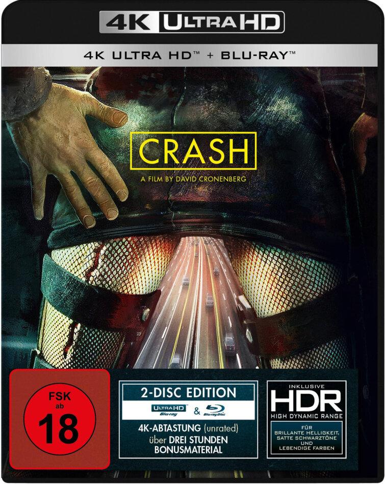 Crash (1996) (4K Ultra HD + Blu-ray)