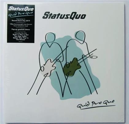 Status Quo - Quid Pro Quo: Pop Up (Blue Translucent Vinyl, LP)