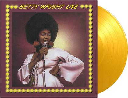Betty Wright - Betty White Live (2020 Reissue, Music On Vinyl, Yellow, LP)