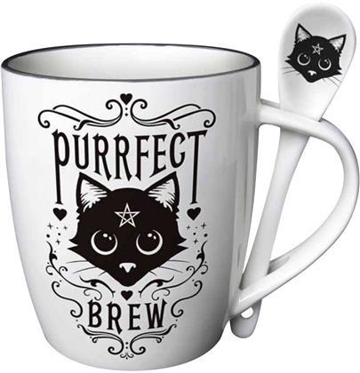 Alchemy: Purrfect Brew - Mug & Spoon Set