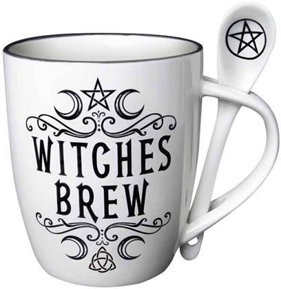 Alchemy: Witches Brew - Mug & Spoon Set