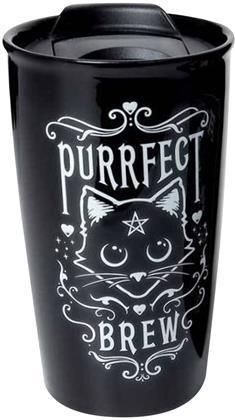 Alchemy: Purrfect Brew - Double Walled Travel Mug