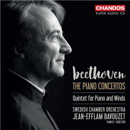 Jean-Efflam Bavouzet & Swedish Chamber Orchestra - The Piano Concertos (3 SACDs)