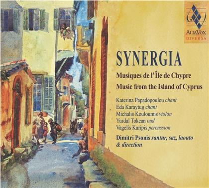Dimitri Psonis, Katerina Papadopoulou, Eda Karaytug & Michalis Kouloumis - Synergia - Music From Cyprus