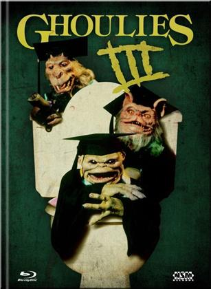 Ghoulies 3 (1990) (Cover A, Limited Collector's Edition, Mediabook, Blu-ray + DVD)