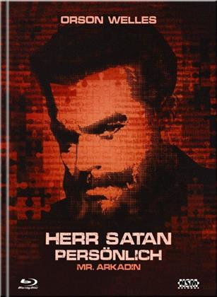 Herr Satan persönlich - Mr. Arkadin (1955) (Cover A, s/w, Limited Collector's Edition, Mediabook, Blu-ray + DVD)