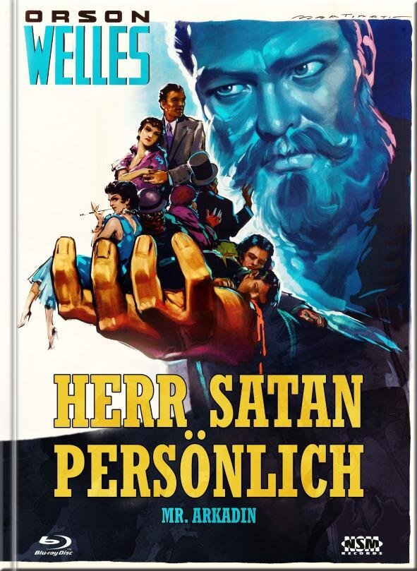Herr Satan persönlich - Mr. Arkadin (1955) (Cover B, s/w, Limited Collector's Edition, Mediabook, Blu-ray + DVD)