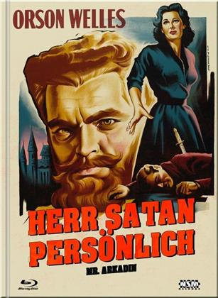 Herr Satan persönlich - Mr. Arkadin (1955) (Cover C, s/w, Limited Collector's Edition, Mediabook, Blu-ray + DVD)