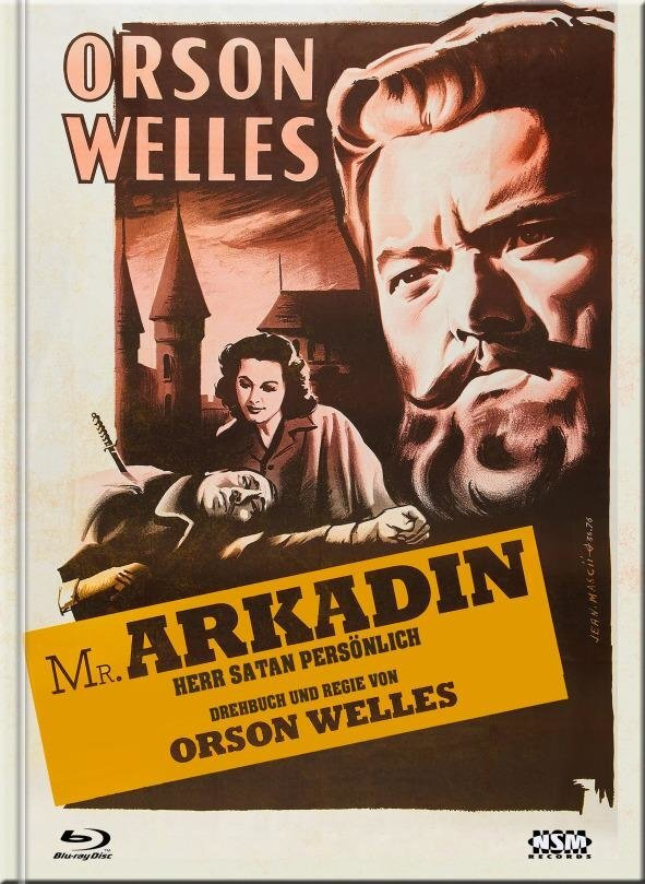 Mr. Arkadin - Herr Satan persönlich (1955) (Cover D, s/w, Limited Collector's Edition, Mediabook, Blu-ray + DVD)