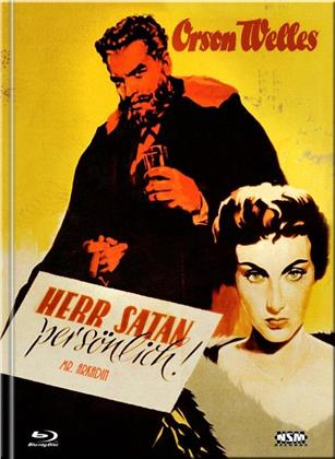 Herr Satan persönlich - Mr. Arkadin (1955) (Cover E, s/w, Limited Collector's Edition, Mediabook, Blu-ray + DVD)
