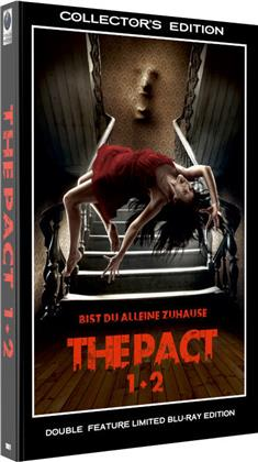 The Pact 1 + 2 (Grosse Hartbox, Collector's Edition, Double Feature, Limited Edition, 2 Blu-rays)