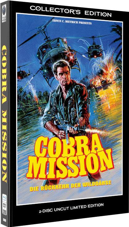 Cobra Mission - Die Rückkehr der Wildgänse (1986) (Grosse Hartbox, Collector's Edition, Edizione Limitata, Uncut, Blu-ray + DVD)
