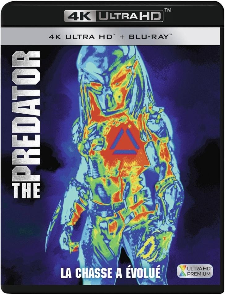 The Predator - Upgrade (2018) (4K Ultra HD + Blu-ray)
