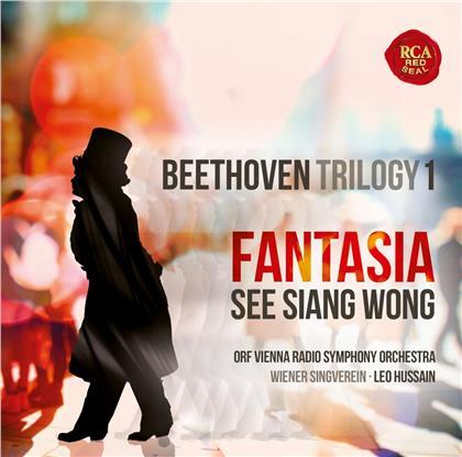 Ludwig van Beethoven (1770-1827), Leo Hussain, See Siang Wong & ORF Radio Symphony Orchestra Vienna - Fantasia - Beethoven Trilogy 1