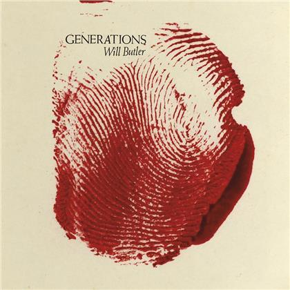 Will Butler (Arcade Fire) - Generations (Limited Edition, Red Splatter, LP)
