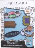 Friends - Friends Velcro Notebook With Patches