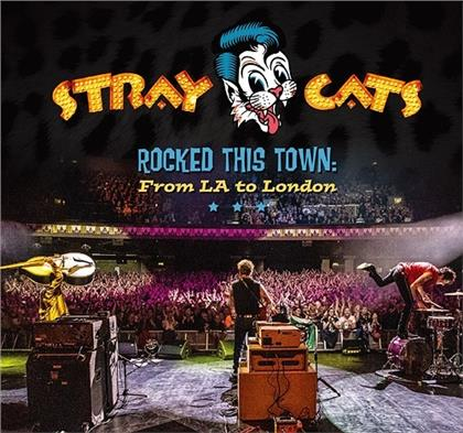Stray Cats - Rocked This Town: From La To London (+ Bonustrack, Japan Edition)