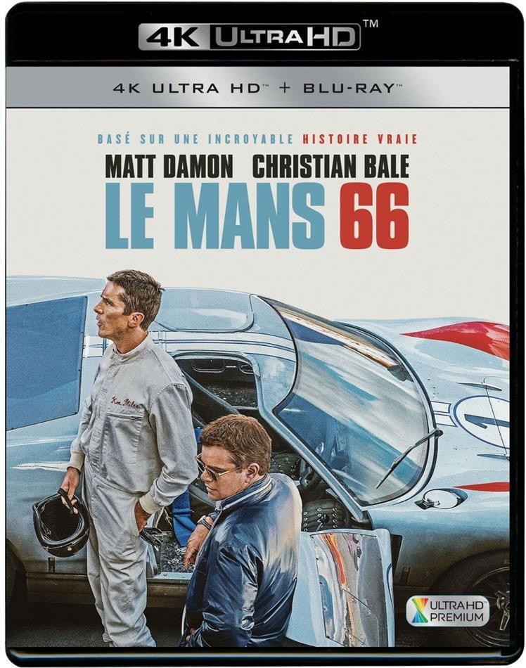 Le Mans 66 (2019) (4K Ultra HD + Blu-ray)