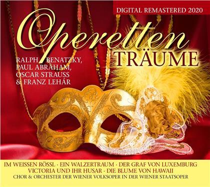Johann Strauss I (1804-1849), Ralf Benatzky & Paul Abraham - Die Größten Operetten Vol. 2 (2 CDs)