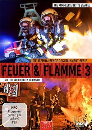 Feuer und Flamme - Mit Feuerwehrmännern im Einsatz - Staffel 3 (3 DVDs)