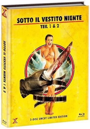 Sotto il vestito niente - Teil 1 & 2 (Limited Edition, Mediabook, Uncut, 2 Blu-rays)