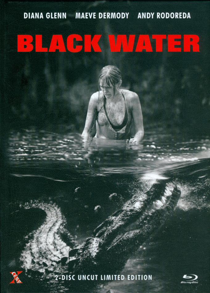 Black Water (2007) (Cover D, Limited Edition, Mediabook, Uncut, Blu-ray + DVD)