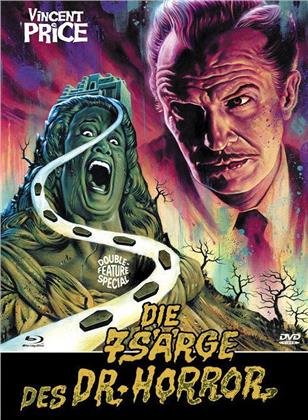 Die 7 Särge des Dr. Horror / Das Geheimnis von Schloss Monte Christo (Eurocult Collection, Cover D, Double Feature, Limited Edition, Mediabook, Blu-ray + DVD)