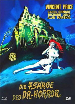 Die 7 Särge des Dr. Horror / Das Geheimnis von Schloss Monte Christo (Eurocult Collection, Cover C, Double Feature, Limited Edition, Mediabook, Blu-ray + DVD)