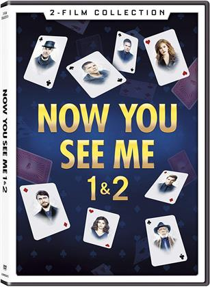 Now You See Me 1&2 (2 DVDs)
