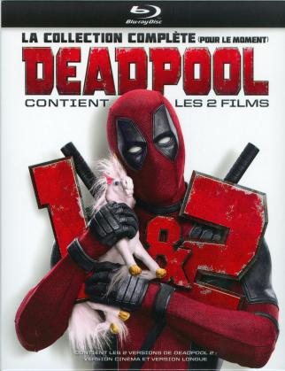 Deadpool / Deadpool 2 - La collection complète (pour le moment) (Extended Edition, Kinoversion, 3 Blu-rays)