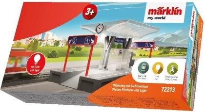Märklin my world - Bahnsteig mit Licht