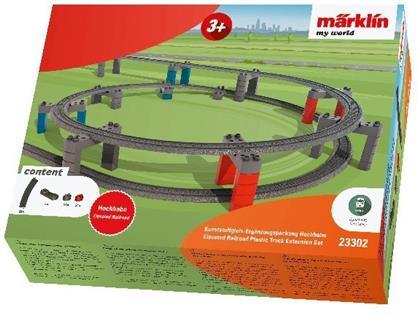 "Märklin my world - Kunststoffgleis-Ergänzungspackung ""Hochbahn"""