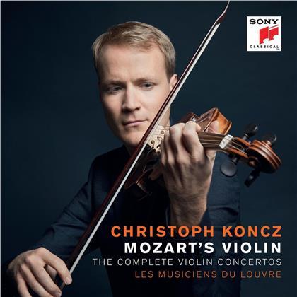 Wolfgang Amadeus Mozart (1756-1791) & Christoph Koncz - The Complete Violin Concertos (2 CDs)