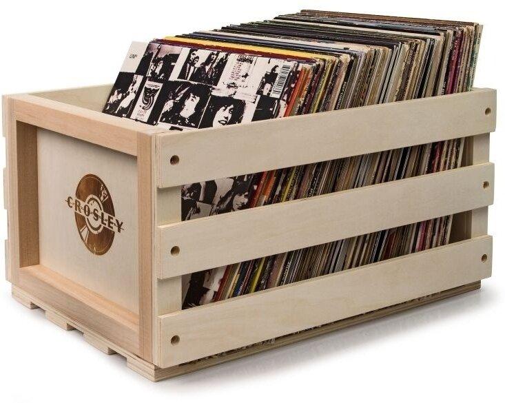 Crosley - Record Storage Crate (Natural)
