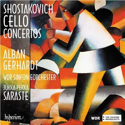 Dimitri Schostakowitsch (1906-1975), Jukka-Pekka Saraste, Alban Gerhardt & WDR Sinfonieorchester - Cello Concertos