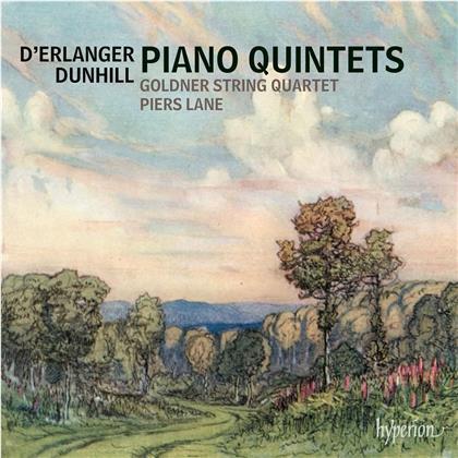 Frédéric D'Erlanger (1868-1943), Thomas Dunhill (1877-1946), Piers Lane & Golden String Quartet - Piano Quintets
