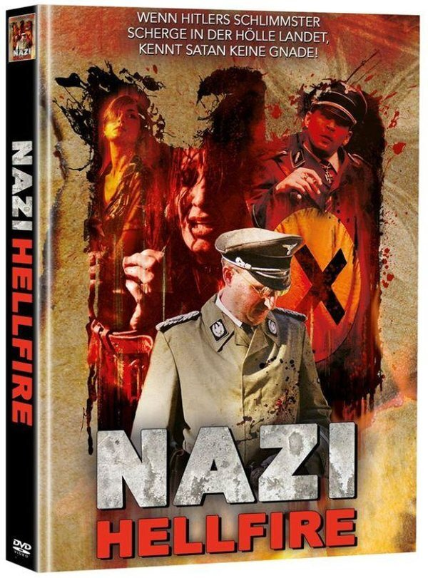 Nazi Hellfire (2015) (Super Spooky Stories, Cover C, Director's Cut, Limited Edition, Mediabook, Unrated, 2 DVDs)