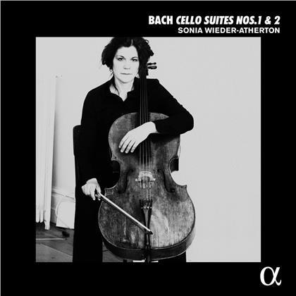 Johann Sebastian Bach (1685-1750) & Sonia Wieder-Atherton - Cello Suites 1 & 2 (LP)
