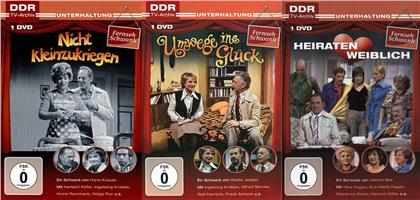 DFF-Schwank 3er Package - Nicht kleinzukriegen / Umwege ins Glück / Heiraten weiblich (DDR TV-Archiv, 3 DVDs)