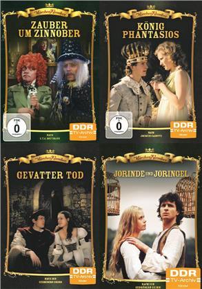 Märchen-Klassiker 4er Package - Gevatter Tod / Jorinde und Joringel / König Phantasios / Zauber und Zinnober (DDR TV-Archiv, 4 DVDs)